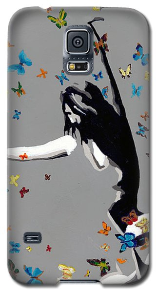 Butterfly Dance Galaxy S5 Case