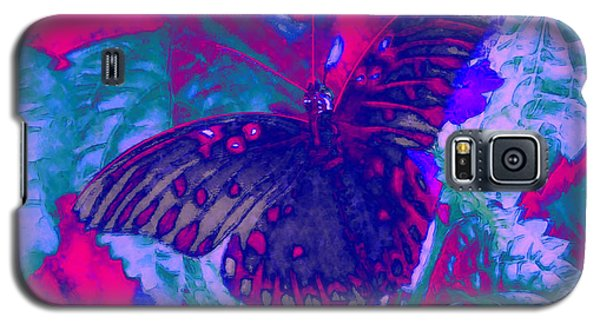 Galaxy S5 Case featuring the painting Butterfly  by David Mckinney