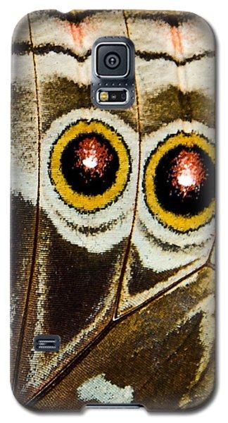 Butterfly Eyes Galaxy S5 Case