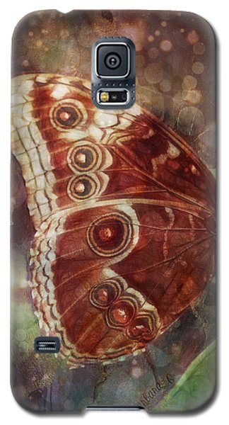 Butterfly In My Garden Galaxy S5 Case by Barbara Orenya