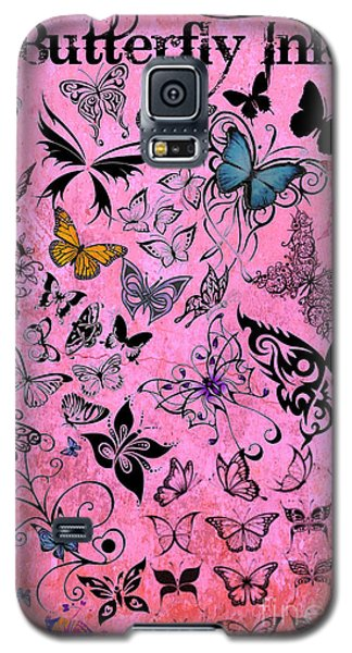 Butterfly Ink Galaxy S5 Case by Mindy Bench