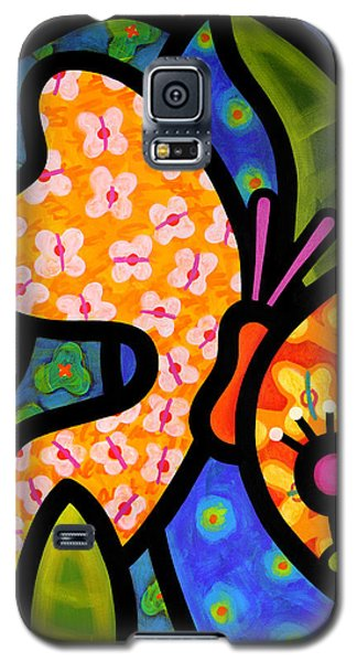Butterfly Galaxy S5 Case - Butterfly Jungle by Steven Scott