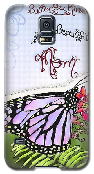 Butterfly Kisses Galaxy S5 Case by Susan Kinney