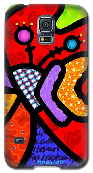 Butterfly Orchid Galaxy S5 Case