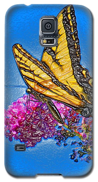 Butterfly Galaxy S5 Case by Patrick Witz