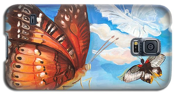 Butterfly Paysage 2 Galaxy S5 Case