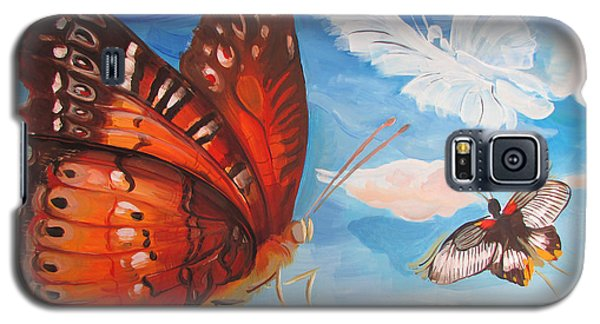 Butterfly Paysage 5 Galaxy S5 Case