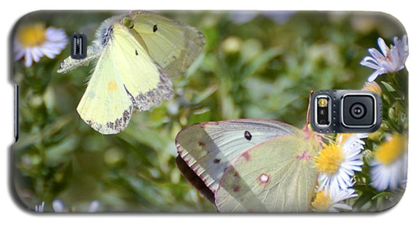 Galaxy S5 Case featuring the photograph Butterfly Moments  by Kerri Farley