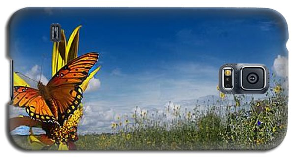 Butterfly Picnic Galaxy S5 Case