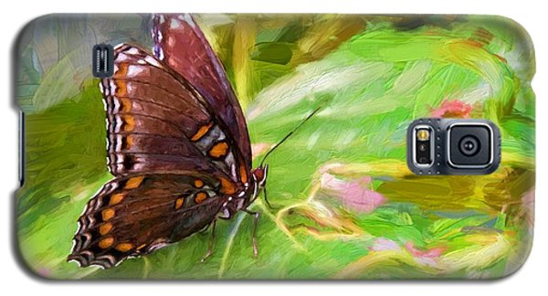 Butterfly - Red-spotted Purple Galaxy S5 Case