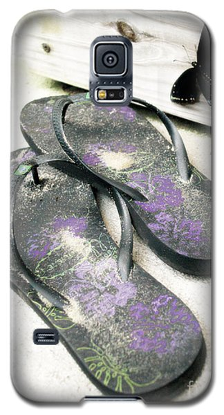 Galaxy S5 Case featuring the photograph Butterfly Summer by Angela DeFrias