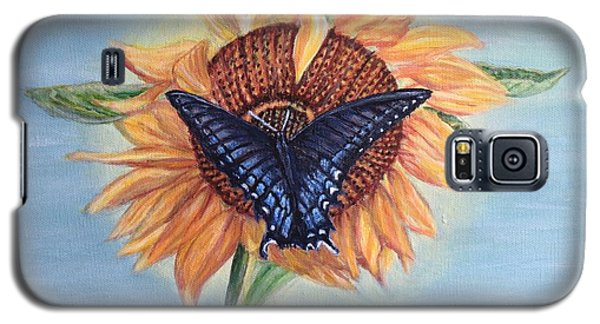 Butterfly Sunday In The Summer Galaxy S5 Case by Kimberlee Baxter