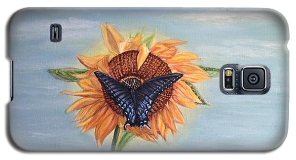 Butterfly Sunday Full Length Version Galaxy S5 Case by Kimberlee Baxter