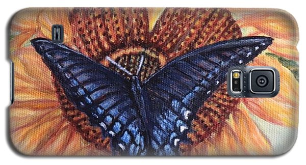 Butterfly Sunday Up-close Galaxy S5 Case by Kimberlee Baxter