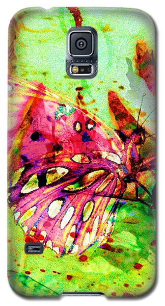 Butterfly That Was A Muscian Galaxy S5 Case