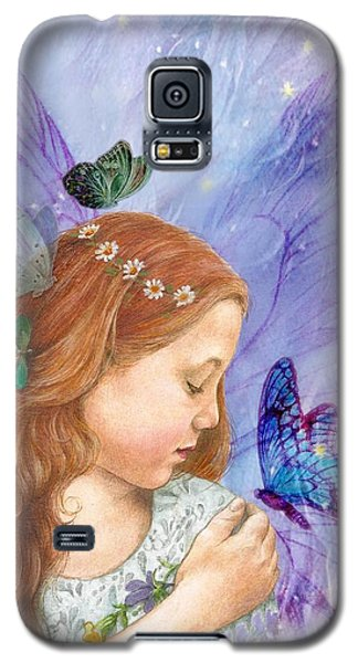 Butterfly Twinkling Fairy Galaxy S5 Case