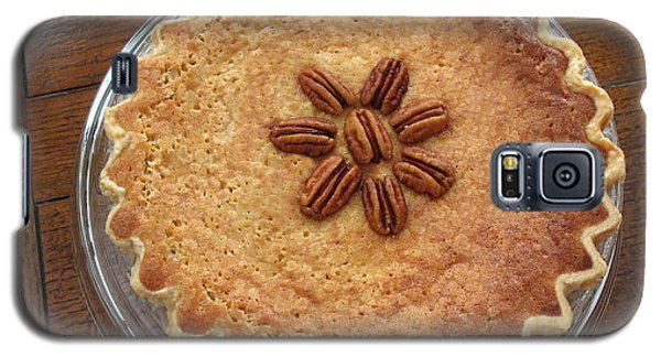 Galaxy S5 Case featuring the photograph Buttermilk Pecan Pie by Connie Fox