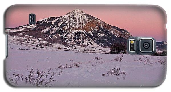 Butte's Winter Glow Galaxy S5 Case