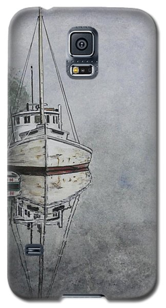 Galaxy S5 Case featuring the painting Buy Boat by Stan Tenney