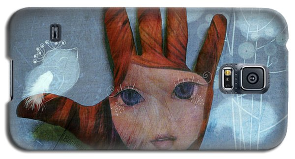 Galaxy S5 Case featuring the digital art By The Pricking Of My Thumb by Barbara Orenya
