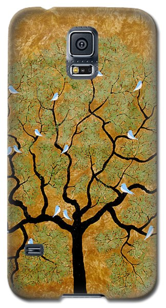 By The Tree Re-painted Galaxy S5 Case