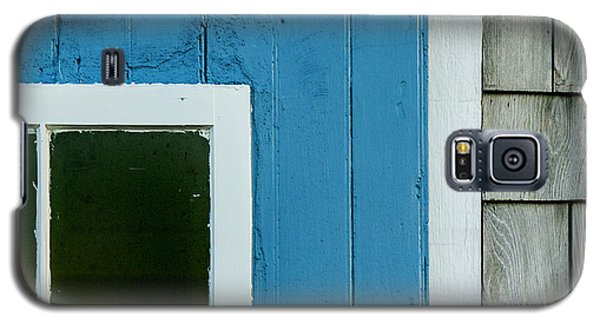 Old Door In Blue Galaxy S5 Case