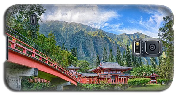 Byodo-in Temple In The Valley Of The Temples Galaxy S5 Case
