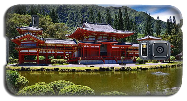 Byodo-in Temple On The Island Of Oahu Hawaii Galaxy S5 Case