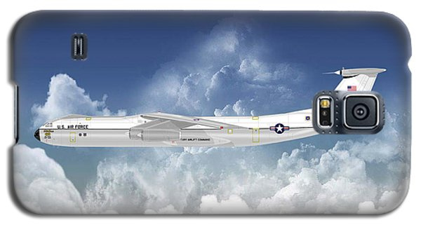 C-141b Starlifter Galaxy S5 Case by Arthur Eggers