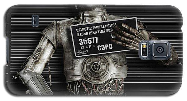 C-3po Mug Shot Galaxy S5 Case