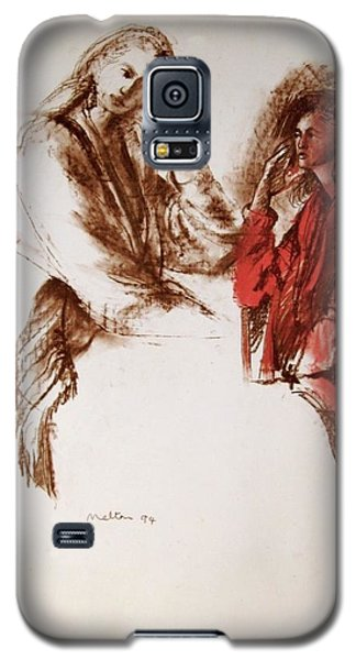C07. A Quiet Chat Galaxy S5 Case