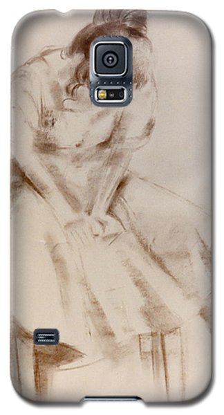 C12. Dancer Resting Galaxy S5 Case