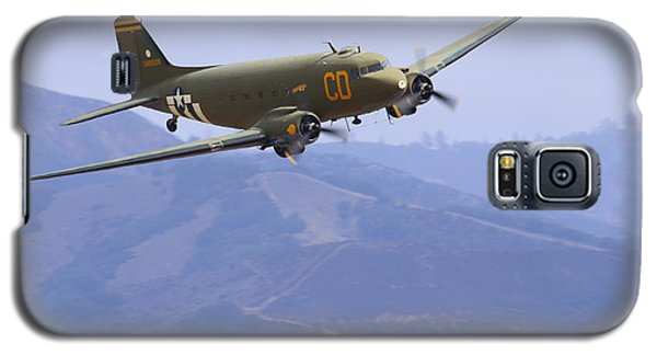 C47 Skytrain Fly-by At Salinas Air Show Galaxy S5 Case