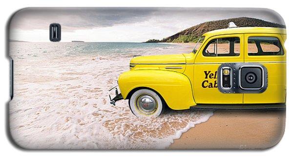Cab Fare To Maui Galaxy S5 Case by Edward Fielding