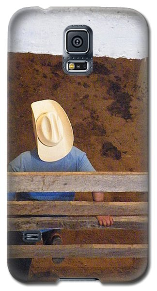 Galaxy S5 Case featuring the photograph Caballero by Brian Boyle