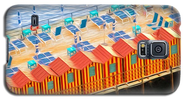 Cabanas Of Sorrento Galaxy S5 Case by TK Goforth
