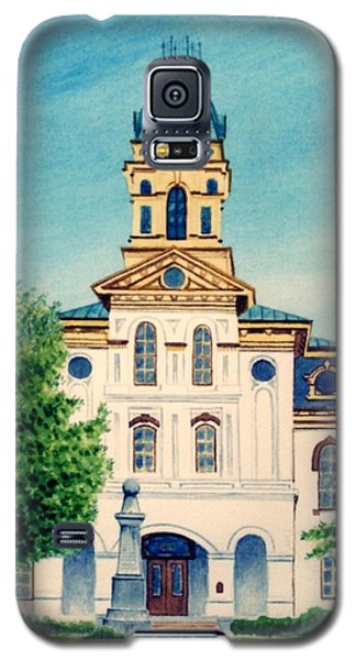 Cabarrus County Courthouse Galaxy S5 Case by Stacy C Bottoms