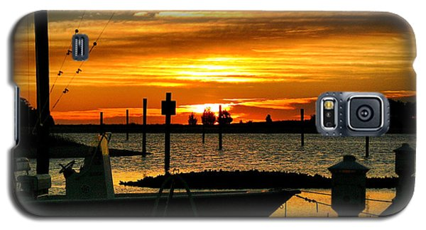 Galaxy S5 Case featuring the photograph Cabbage Inlet Sunrise II by Phil Mancuso