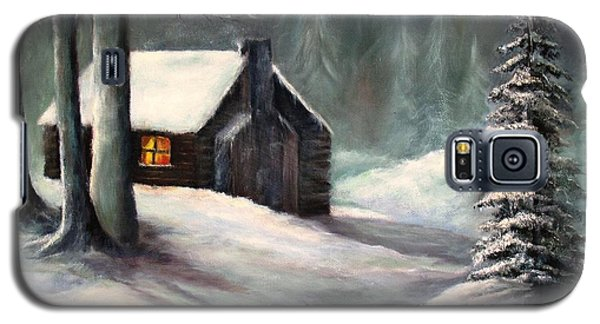 Cabin In The Woods Galaxy S5 Case by Hazel Holland