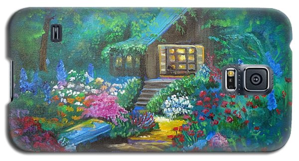 Cabin In The Woods Galaxy S5 Case by Jenny Lee