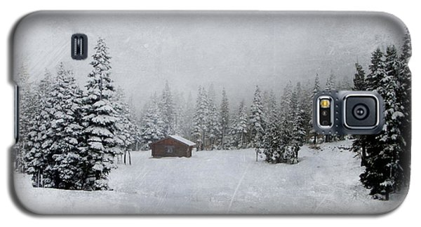 Cabin In The Woods-textured Galaxy S5 Case
