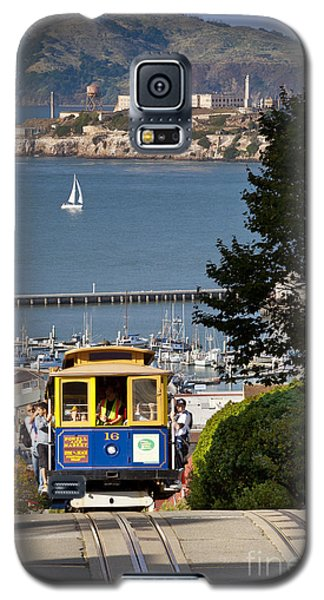Cable Car In San Francisco Galaxy S5 Case