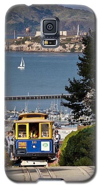 San Francisco Cable Car On Hyde Street Print By Brian Jannsen Photography Galaxy S5 Case