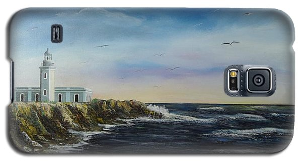 Cabo Rojo Lighthouse Galaxy S5 Case by Tony Rodriguez