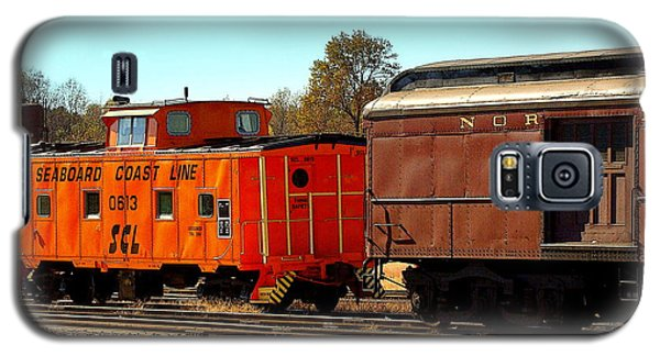 Caboose And Car Galaxy S5 Case