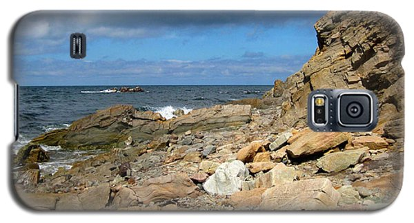 Galaxy S5 Case featuring the photograph Cabot Trail Coastline by Mario Carini