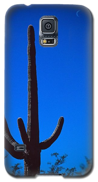 Cactus And Moon Galaxy S5 Case