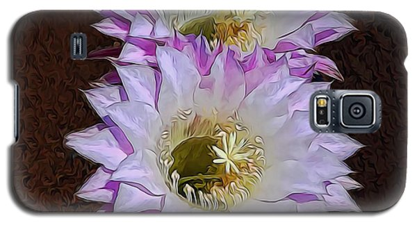 Cactus Flowers Galaxy S5 Case
