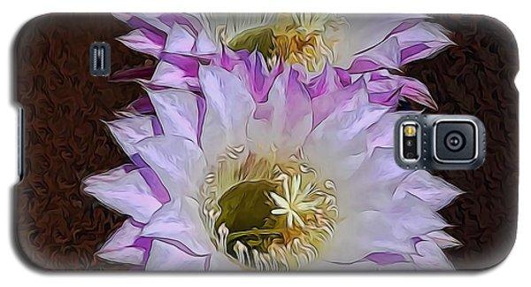 Cactus Flowers Galaxy S5 Case