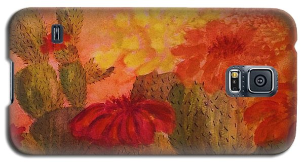 Cactus Garden - Square Format Galaxy S5 Case